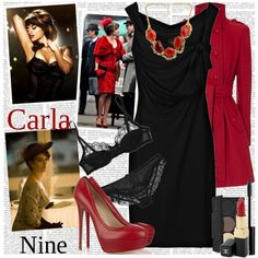"""Nine...Carla"" by marianna-vintage on Polyvore"