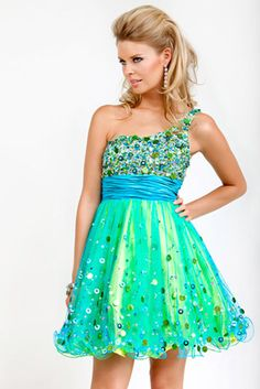 Cute blue, short dress - so prom | Dresses Darling® | Pinterest ...