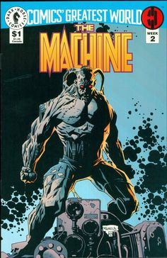 The Machine by Mike Mignola *