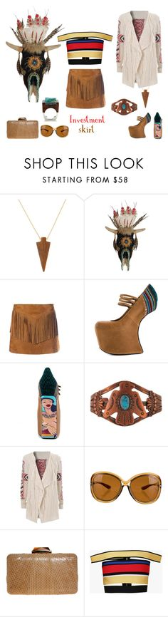 """Natural Bridge, Virginia"" by southernreef ❤ liked on Polyvore featuring Panacea, Yves Saint Laurent, TaylorSays, Tom Ford, KOTUR, Balmain and Pasionae"