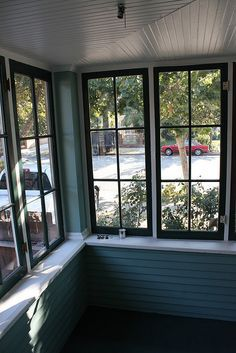 Maybe black windows for my porch?