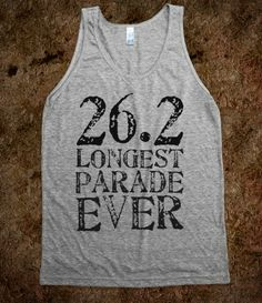 26.2 Longest Parade Ever - The Best Marathon Shirt