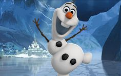 "He's Olaf and he likes warm hugs. Sprung from the Snow Queen's magical powers, Olaf is by far the friendliest snowman to walk the mountains above Arendelle, in Walt Disney Animation Studios' stunning big-screen comedy-adventure ""Frozen. Disney Frozen Olaf, Walt Disney, Disney Family, Disney Fun, Frozen Wallpaper, Iphone 6 Plus Wallpaper, Disney Wallpaper, 1080p Wallpaper, Disney Sidekicks"