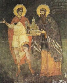 Пророк Даниил и архиеп. Даниил II