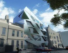 33-35 Hoxton Square in London - architect: Zaha Hadid