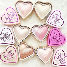 Makeup Revolution Blushing Hearts.