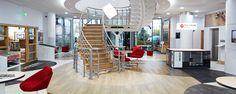 Karndean DesignFlooring, Showroom Project, Evesham. - OEG Interiors  #dishy #davidfox #davidfoxdesign  http://www.davidfoxdesign.co.uk