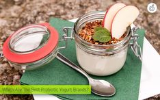 What is the probiotic yogurt, what are the benefits, and which are the best probiotic yogurt brands on the market (with lactobacillus acidophilus or not)! Healthy Snacks, Healthy Eating, Healthy Recipes, Healthy Breakfasts, Clean Eating, Soup Recipes, Nutritious Breakfast, Dinner Recipes, Nutrition Herbalife