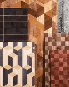 The Timber collection is made exclusively of Paulownia wood that has been processed with care and craftsmanship. Inlaid geometric patterns produce surprising optical effects. A natural product that derives its exclusivity from its pureness. Arte Wallcovering, Wood Wallpaper, Geometric Patterns, Wood Veneer, Sisal, Real Wood, Weaving, Walls, Wall Decor