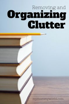 Removing and organizing clutter is usually a big job, physically and emotionally. Here are some ways to help make the job a little bit easier.