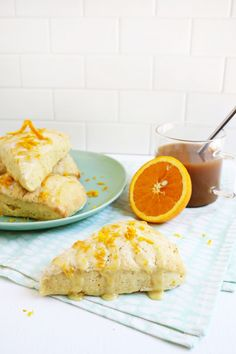 Perfect for brunch! orange zest scones (click through for recipes