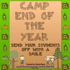Camp Themed End of the Year Unit -Finish your year off with learning and fun! This camp themed week long unit is great way to end the year! $