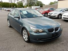 2009 BMW 535I  78868 miles, Blue exterior color with a Tan interior, 3.0L L6 FI DOHC 24V Engine, Automatic Transmission, Stock # 14842