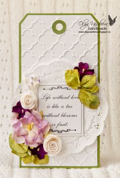 Crafting ideas from Sizzix UK: Bright Spring Tags