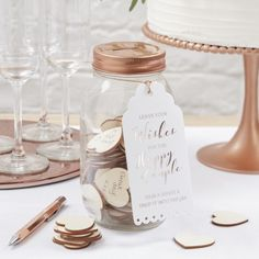 Wishing Jar Guest Book