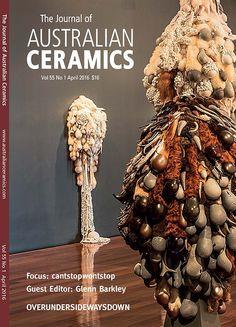 The Journal of Australian Ceramics Vol 55 No April 2016 Spoons, Sea Shells, Xmas, Journal, Ceramics, Artist, Yule, Hall Pottery, Navidad