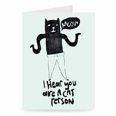 Cat Person #Doodle #Drawing #Hand #Drawn #Free #Funny #Quirky #Humour #Modern #Sketch #Art #Illustration #Card #Occasions #Wholesale #Gifts #Gift #Tshirt #Print #Magnet #Canvas #Keyring #iPadCase #PhoneCase  #Cover #ToteBag #TeaTowel #Mug Oodles of Doodles- Exclusive to Star Editions www.stareditions.com