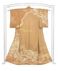 【品格の正統派古典。】 正絹創作手加工友禅訪問着 「道長取雅色紙文」 ☆最小限の彩りに品格を込めて…|京都きもの市場