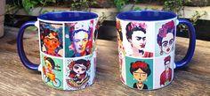Caneca Personalizada Frida Kahlo #fridakahlo