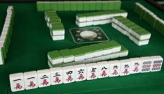 Although Mahjong is usually played with four players, no major rule needs to be altered from the four player game in order to work for only two players. A centuries old game, Mahjong is similar to . Gin Rummy, Mahjong Online, Mahjong Set, Uno Cards, Tiles Game, Ancient Greek Architecture, Gothic Architecture, Old Games, China Travel
