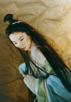 Rheia Zetian, Young Brigitte Lin as Face claim.