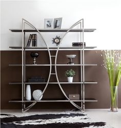 Diana bookcase. Modern Bookcase, Furniture Companies, Shelving, Diana, Decor Ideas, Home Decor, Shelves, Decoration Home, Modern Library