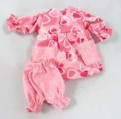 Doll clothes: Pink dress bloomers for doll by JoellesDolls on Etsy