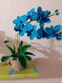 Orchidea fatta dalla mia amica Mirella chiominto