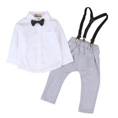 >> Click to Buy << Pudcoco 0-24M Toddler Kids Baby Boys Outfits Shirt Tops +Long Pants Overalls Clothes Set  #Affiliate