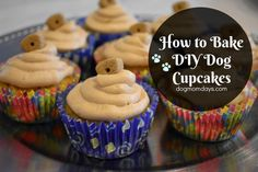 A delicious recipe for DIY doggie cupcakes! You probably already have most, if not all, of the ingredients in your kitchen!