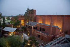 The Red Brick Contemporary Art Museum (via en.cafa.com.cn)