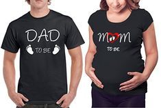 767d72bdf Imagen relacionada Buy T Shirts Online, Pregnant Couple, Dad Humor,  Matching Couple Shirts