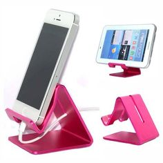 Sunvito Solid Aluminum Metal Desktop Stand for Mobile Phone Tablet PC (Rose) - http://www.computerlaptoprepairsyork.co.uk/mobile-phones/sunvito-solid-aluminum-metal-desktop-stand-for-mobile-phone-tablet-pc-rose