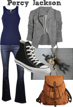 """Percy Jackson and the Olympians- Percy"" by leslieclaire1 on Polyvore"