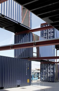 The STACK II is the latest version of Arcgencys Container Offices with even more design for disassembly features.