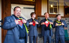 Look out criminals, there are new super heroes in town.... #wedding #groom #groomsmen