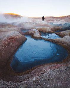 Geyser Sol De Mañana, Bolivia. --  by: @zeekyan. --- #OurLonelyPlanet #Bolivia #Travel