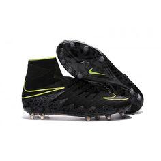 Ny Billig Nike Hypervenom II Phantom Premium FG Fotballsko For Menn - Svart  Grønn, Nike