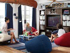 I love the PBteen Beanbag Lounge on pbteen.com