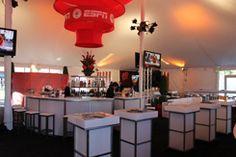 rosebowl hospitality tents