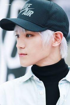 nct taeyong -- he looks like an anime character **