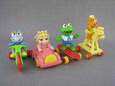 I definitely had all of these! Muppet Babies (1987) | The 25 Greatest Happy Meal Toys Of The '80s