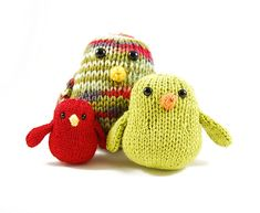 Chubby Chirps. Free pattern, very easy. ADORABLE.