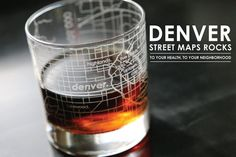 Denver Street Maps Rocks