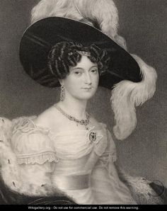 Victoria Maria Louis, Duchess of Kent and Strathearn 1835 - Henry Collen