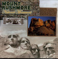 Mount Rushmore layout