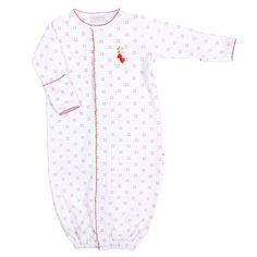 Magnolia Baby Strawberry Fields Embroidered Ruffle Converter
