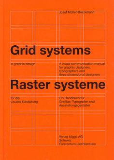 Grid systems by Josef Müller-Brockmann