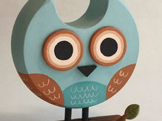 "Master of Repurposing: Eric Barclay. ""Wood sculpture made from a broken banister knob (body), a coat hanging rod (eyes), and a fence post (perch). Owl Crafts, Diy And Crafts, Arts And Crafts, Wooden Crafts, Wooden Toys, Wood Owls, Wood Animal, Small Wood Projects, Block Craft"
