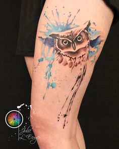 #Mtl Julie l'Écuyer #tattooartist #tattoo #tatts #tatouage #colortattoo #instatattoo #hibou #owl #owltattoo #ink #inked #inkedup #inkedgirls #inkedgirl #cheyennetattooequipment #eternalink #hustlebutterdeluxe #followme #followback